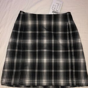 Cute Plaid Brandy Melville Mini Skirt